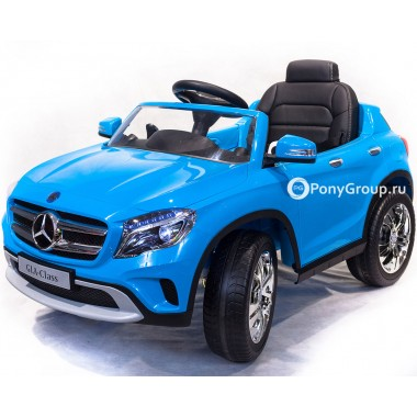 """Детский электромобиль Mercedes-Benz GLA R653 (с """"кондиционером"""", резиновыми колесами, кожаным сиденьем с регулировкой)"""