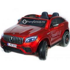Детский электромобиль Mercedes-Benz GLC63 2.0 Coupe 4X4 XMX 608 (ПОЛНОПРИВОДНЫЙ 4WD, ДВУХМЕСТНЫЙ, резиновые колеса, кожа)
