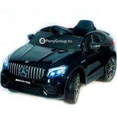 Детский электромобиль Mercedes-Benz GLC63 Coupe AMG 4X4 QLS-5688 (ПОЛНОПРИВОДНЫЙ 4WD, резиновые колеса, кожа)
