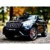 Детский электромобиль Mercedes-Benz GLC63 Coupe AMG 4X4 QLS-5688 (полноприводный 4WD с резиновыми колесами и кожаным сиденьем)