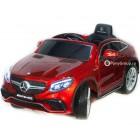 Детский электромобиль Mercedes-Benz GLE63 Coupe AMG (резиновые колеса, кожа)
