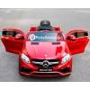 Детский электромобиль Mercedes-Benz GLE63 Coupe AMG (с резиновыми колесами и кожаным сиденьем)