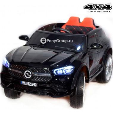 Детский электромобиль Mercedes-Benz GLE Coupe 4x4 YCK5416 (полноприводный 4х4 с резиновыми колесами и кожаным сиденьем)