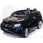 Детский электромобиль Mercedes-Benz GLS63 AMG 4WD (ПОЛНЫЙ ПРИВОД, двухместный, резиновые колеса, кожа)