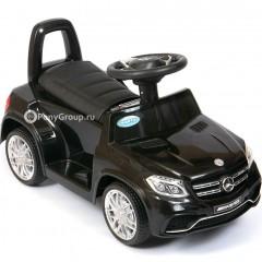 Детский электромобиль Mercedes-Benz GLS 63 AMG HL600 (резиновые колеса, кожа)