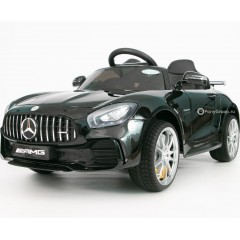 Детский электромобиль Mercedes-Benz GTR AMG HL288 (резиновые колеса, кожа)