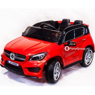 Детский электромобиль Mercedes-Benz JH-9998 (с резиновыми колесами, кожаным сиденьем)