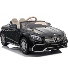 Детский электромобиль Mercedes-Benz Maybach S650 Cabriolet ZB188 (резиновые колеса, кожа)