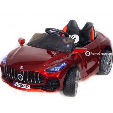 Детский электромобиль Mercedes-Benz Sport YBG6412 (с резиновыми колесами, кожаным сиденьем)