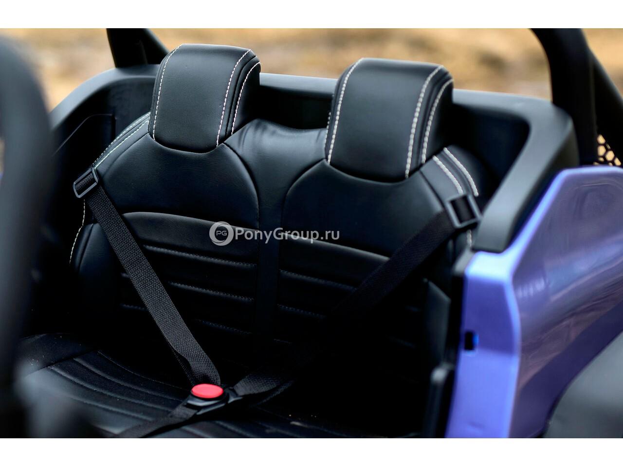 Детский электромобиль Mercedes-Benz Unimog 2011 Concept 4x4 двухместный, полноприводный 4WD с ...