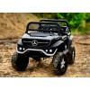 Детский электромобиль Mercedes-Benz Unimog 2011 Concept 4x4 (двухместный, полноприводный 4WD с резиновыми колесами и кожаным сиденьем)