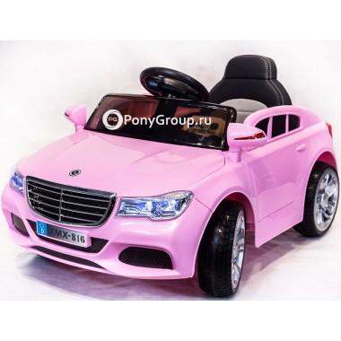 Детский электромобиль Mercedes-Benz XMX 816 (с резиновыми колесами, кожаным сиденьем)