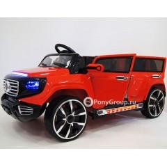 Детский электромобиль Mers Лимузин A555AA (резиновые колеса, четырехдверный)