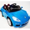 Детский электромобиль Porsche 911 Turbo S E001EE (резиновые колеса, кожа)