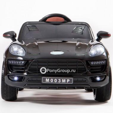 Детский электромобиль Porsche Macan M003MP VIP (резиновые колеса, кожа)