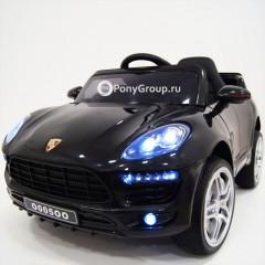 Детский электромобиль Porsche Macan O005OO VIP (резиновые колеса, кожа)
