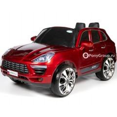 Детский электромобиль PORSCHE MACAN M999AA (резиновые колеса, кожа)