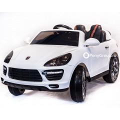 Детский электромобиль PORSCHE CAYENNE SH 808 (резиновые колеса, кожа)