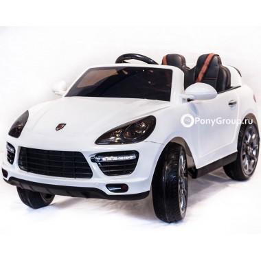 Детский электромобиль PORSCHE CAYENNE SH 808 (с резиновыми колесами, кожаным сиденьем)