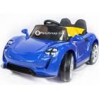 Детский электромобиль Porsche Sport mini BBH 7188 (резиновые колеса, кожа)