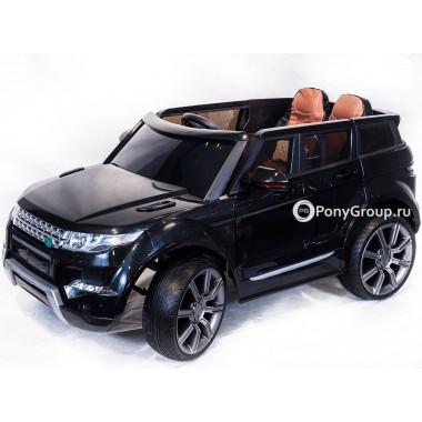 Детский электромобиль RANGE ROVER 0903 (с резиновыми колесами, кожаным сиденьем)