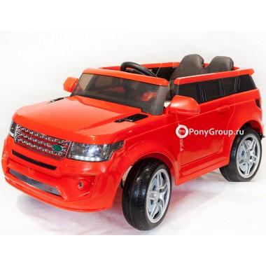 Детский электромобиль RANGE ROVER BBH 118 (с резиновыми колесами, кожаным сиденьем)