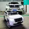 Детский электромобиль TOYOTA LAND CRUISER PRADO 4x4 YHD5637 (полноприводный 4WD с резиновыми колесами и кожаным сиденьем)