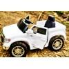 Детский электромобиль TOYOTA TUNDRA JJ2125 (с резиновыми колесами и кожаным сиденьем)
