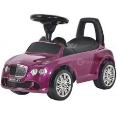 Каталка BENTLEY Continental GT Speed пурпурная глянцевая с музыкой
