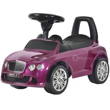 Каталка-машинка BENTLEY Continental GT Speed с музыкой (фиолетовый металлик)