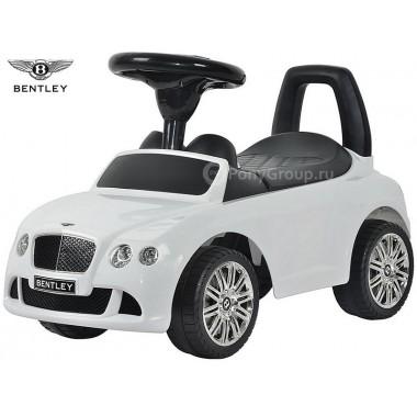 Каталка-машинка BENTLEY Continental GT Speed с музыкой (белый)