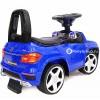 Каталка Mercedes-Benz A888AA (резиновые колеса, кожа, музыкальные и световые эффекты)