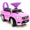 Каталка-машинка Mercedes-Benz A888AA (резиновые колеса, кожа, музыкальные и световые эффекты)
