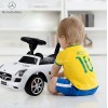 Каталка-машинка Mercedes-Benz SLS AMG с музыкой (белый)