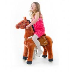 Поницикл - Рыжая лошадка (средний) от 4 до 7 лет