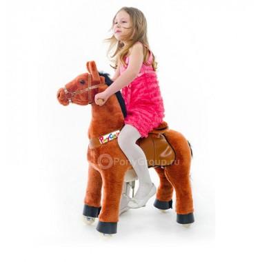 Поницикл - Рыжая лошадка (малый) от 1,5 до 4 лет